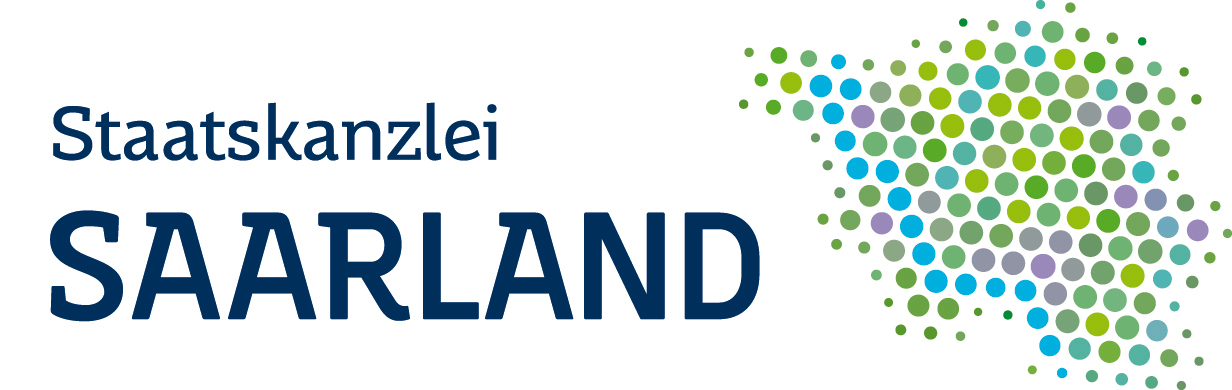Logo der Staatskanzlei Saarland Botschafter der Deutschen Traumastiftung